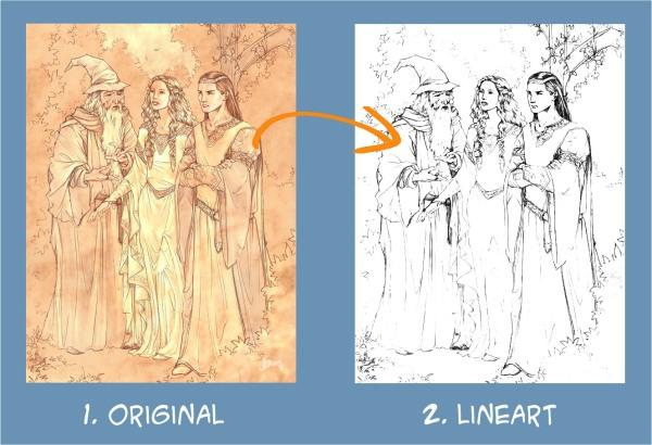 make-lineart